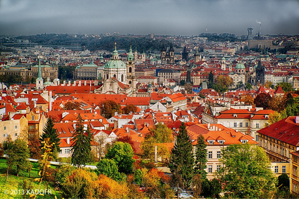 Malostranské červené střechy pokrývají značnou část historického centra Prahy zaneseného do Seznamu světového dědictví UNESCO  Foto: Karel Dobeš