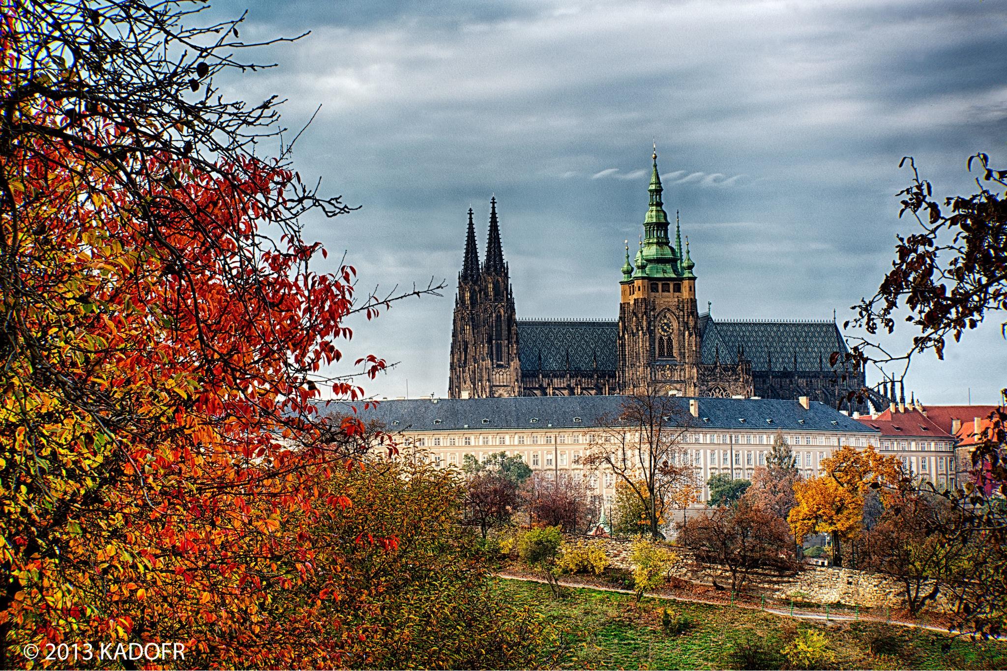 Kdo si ještě dnes vzpomene, že kopec, na kterém stojí Pražský hrad, se nazývá Žiži - (Foto: Karel Dobeš)