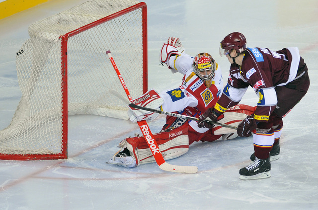Hokejové derby Sparta - Slavie