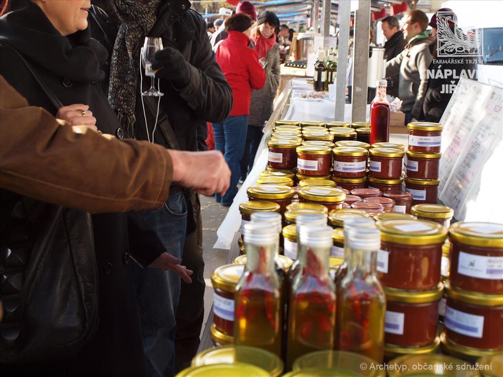 Farmářské trhy na Jiřáku