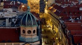 Fascinující Praha z ptačí perspektivy