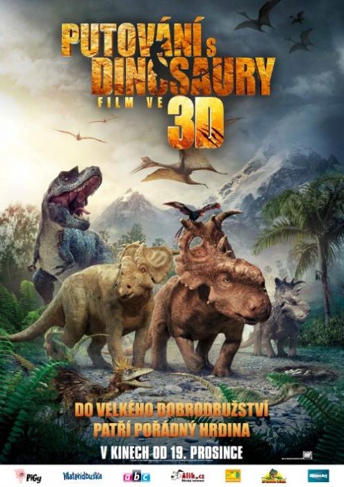 Premiéra - Putování s dinosaury - film ve 3D