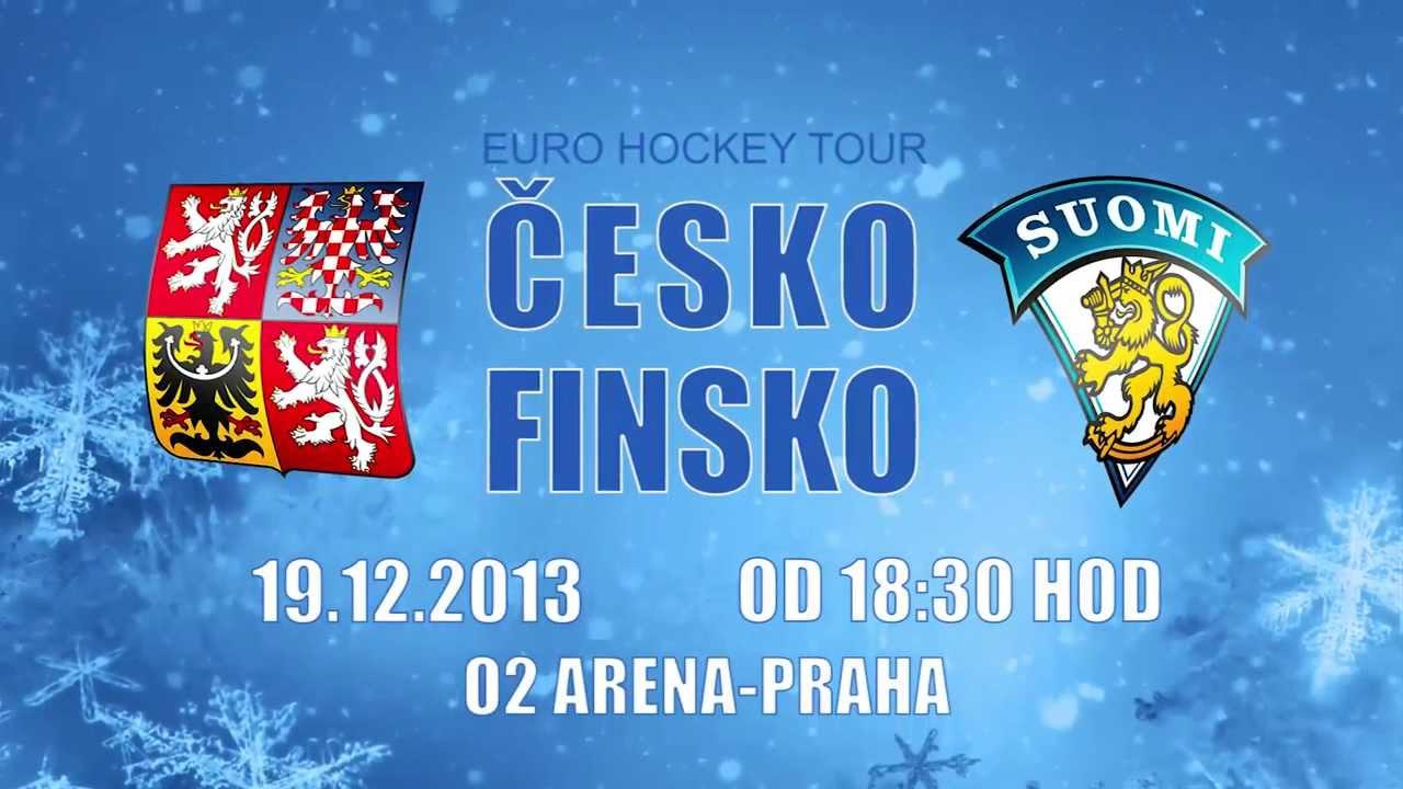 Hokej Česko - Finsko
