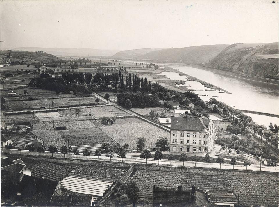 Unikátní pohled na Braník v roce 1927 ukazuje detailně oblast údolí zničenou výstavbou Barrandovského mostu a jižní spojky v 80. letech 20. století. Vlevo je vidět branický pivovar, vpravo ještě nezastavěná Barrandovská skála a neregulované pobřeží Vltavy. Je až k neuvěření, jak se tato idylická oblast za několik desítek let změnila. - popisky sepsal architekt Petr Kučera