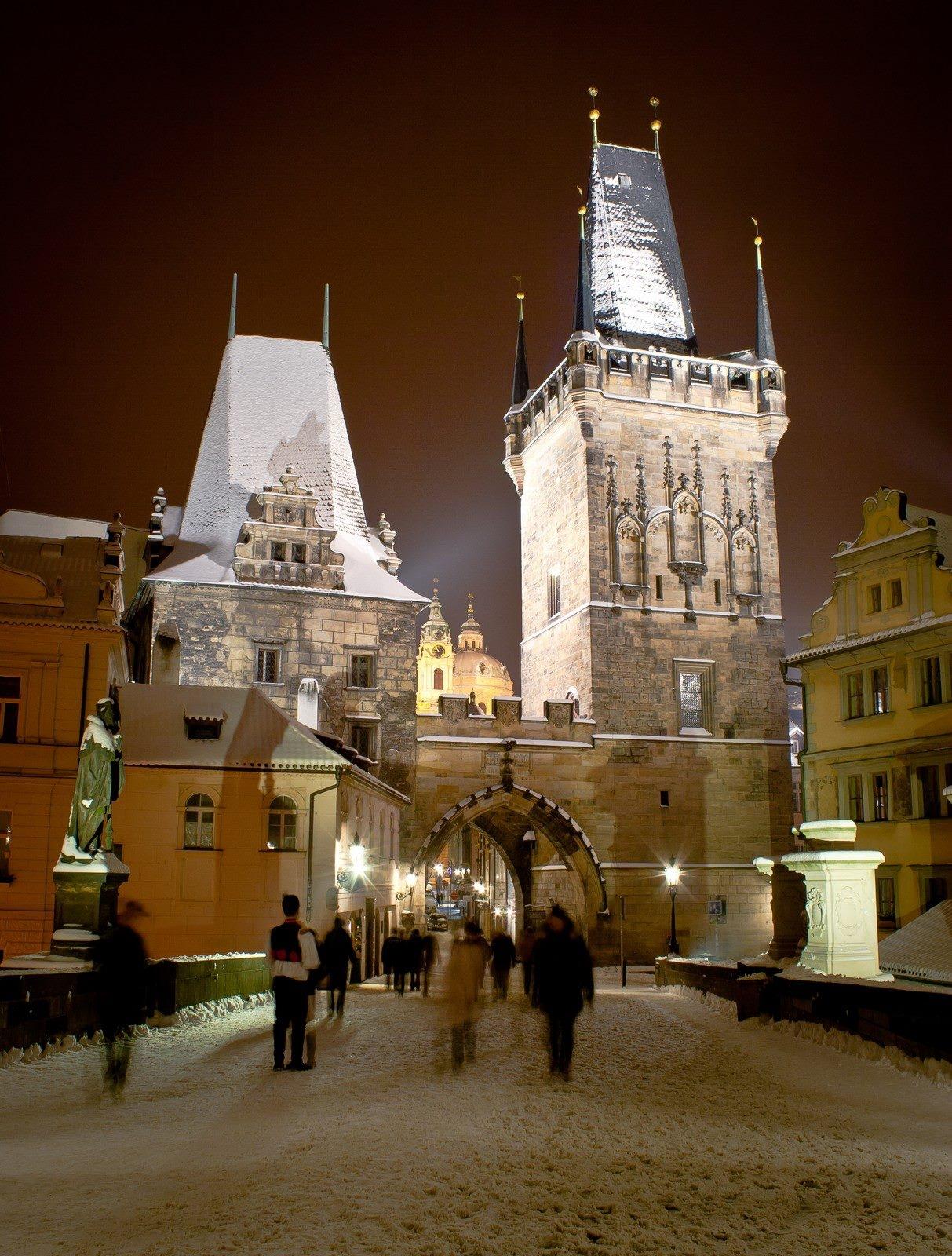 Malostranské mostecké věže - Foto: Marek Nahodil