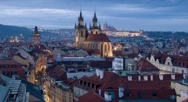 Praha z ptačí perspektivy: škoda, že nemáme křídla…