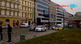 VIDEO: Florenc byla obšancovaná policii. Hledala se bomba