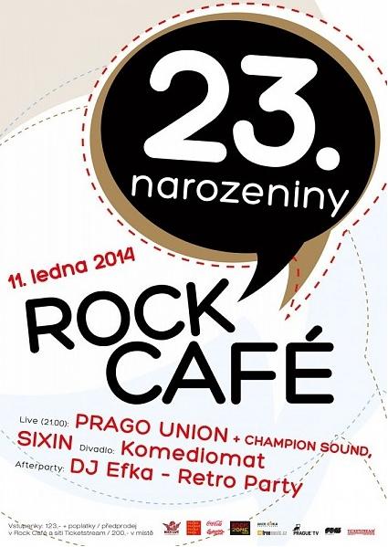 23. narozeniny Rock Café