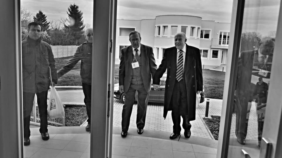 Na palestinském zastupitelství v Praze. 15.II.2014. - Foto: Eugen Kukla