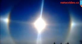 NEVÍDÁNÉ! Ve Špindlu se objevila tři slunce. Máme video…
