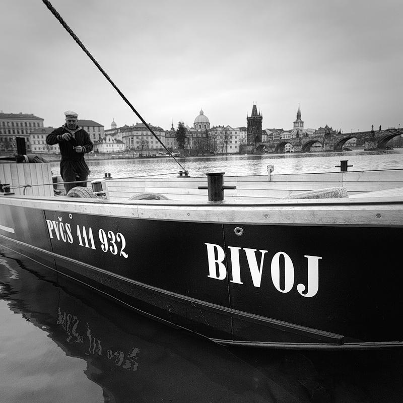 Spouštění Bivoje - Foto: Michal Vitásek