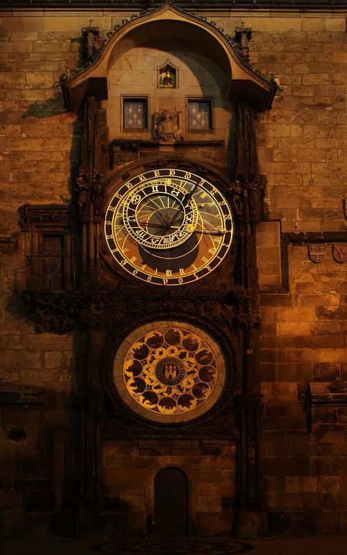Noční orloj - Foto: Jaroslav Juřička