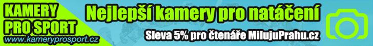 Sleva 5% na eshopu kameryprosport.cz