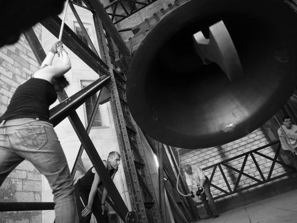 Zvon Zikmund se používá jen ve vybraných svátcích a vyjímečných příležitostech. Zvonil například při návštěvách dvou papežů nebo při pohřbu prezidenta Václava Havla - Foto: Eugen Kukla