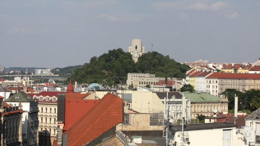 Jindřišská věž nabízí neobvyklé pohledy na město - Foto: David Černý