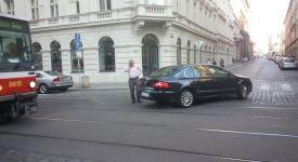 Foto: Ransdorf zase boural! A v centru nejezdily tramvaje..