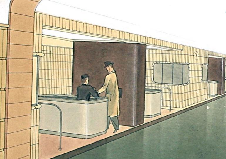 Stanice Muzeum v rozvaze roku 1939