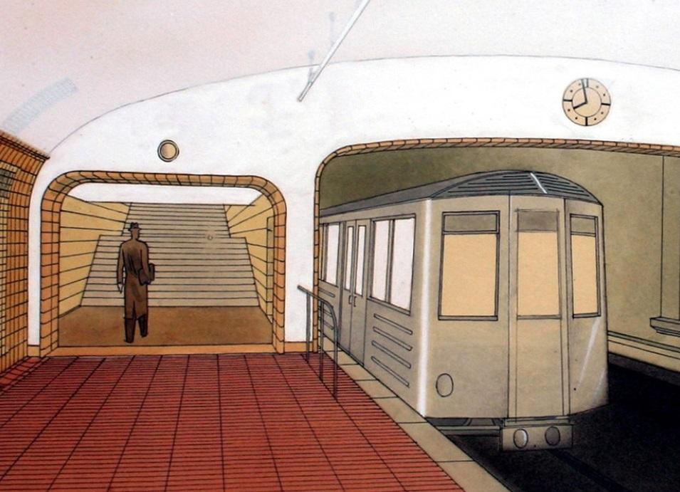 Návrh podoby stanice Radnice