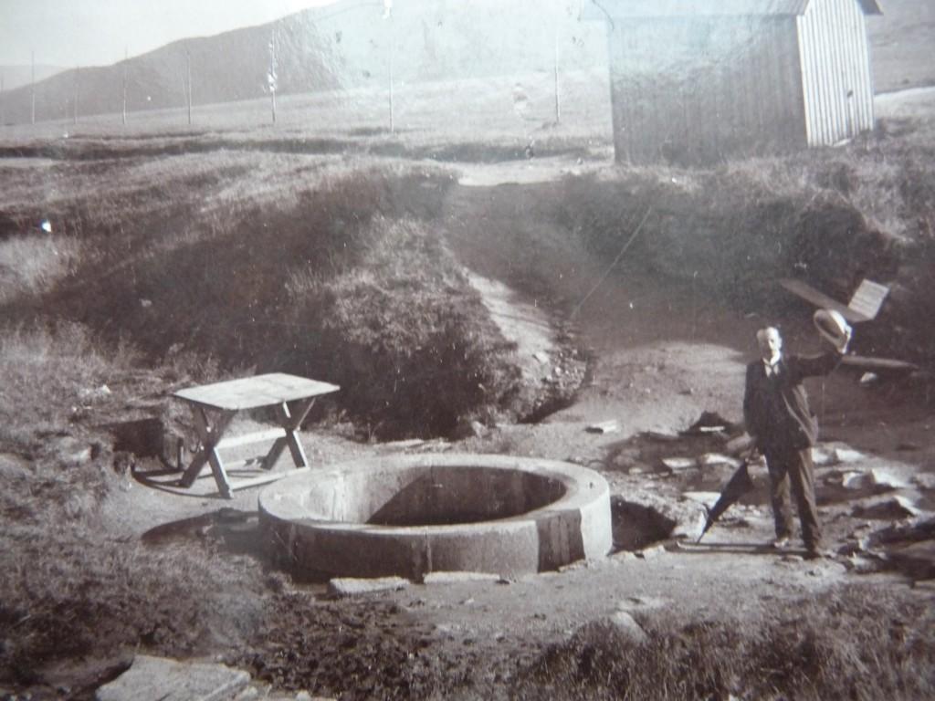 Pramen Labe v roce 1908 - Foto: www.fotohistorie.cz