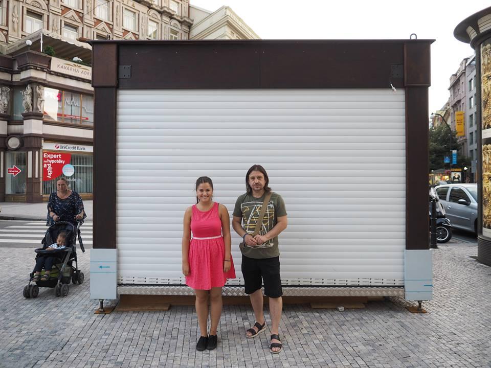 Studentka Innu Mihalová s tatínkem Michalem - Foto: Eugen Kukla