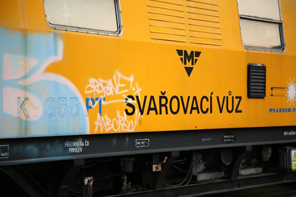 Svařovací vůz  - Foto: Štěpán Rusňák