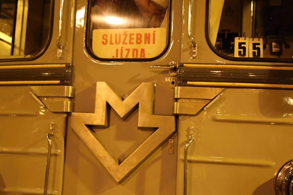 Maska soupravy Ečs (81-709) je nejstarší typ sovětských vozů metra vyráběných pro pražské metro, kde byly provozovány v letech 1974–1997.  - Foto: Štěpán Rusňák