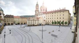 Takhle bude vypadat Malostranské náměstí. Podívejte se na vizualizace