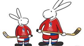 Maskoty hokejového MS v Praze a Ostravě budou Bob a Bobek