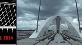 Podívejte se na unikátní časosběrné video ze stavby Trojského mostu