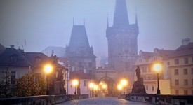 Podzimní Praha Davida Šedivého