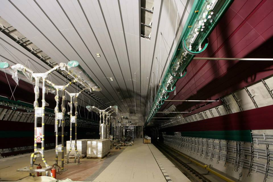 Stanice Bořislavka - Foto: Metrostav