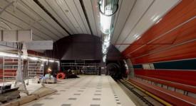 Nové snímky prodloužení metra linky A. Podívejte se…