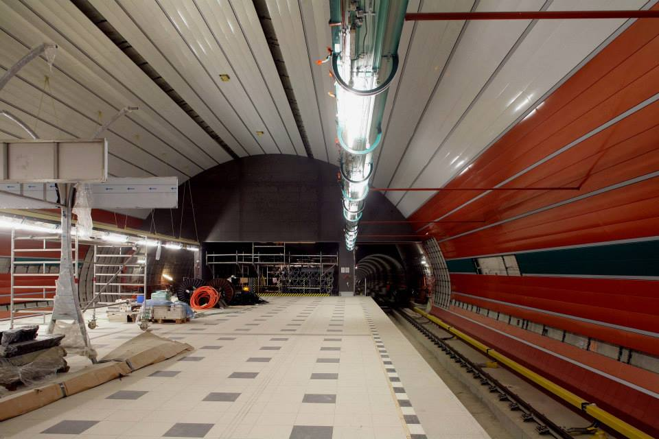 Stanice Petřiny - Foto: Metrostav
