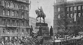UNIKÁTNÍ VIDEO: Praha 28. října 1918 – jak se sesulo mocnářství a vznikl nový stát