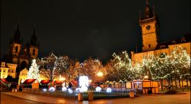Čtyři noční zastavení ve vánoční Praze