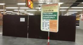 Dopravní podnik odhalil další čtyři vadné eskalátory v metru. Mohly být nebezpečné
