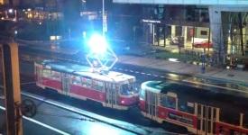 Proč nejezdily tramvaje. Video, které vysvětlí více než slova