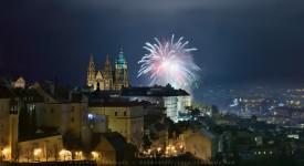 Praha na přelomu roku aneb 2014 je mrtev, ať žije 2015!