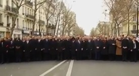 SLEDUJTE ŽIVĚ! Ve Francii se sešel milionový pochod za uctění obětí terorismu