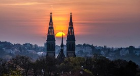 Praha magická ve hře světel od Aleše Náhlého