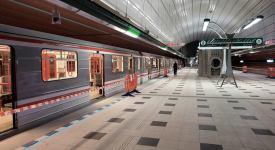 Linka A se prodloužila o čtyři stanice. Podívejte se na fotky