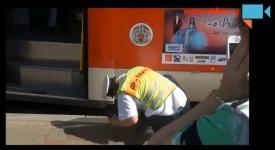 VIDEO: Pod tramvaj zdrhla myš a hledali ji celé Kobylisy