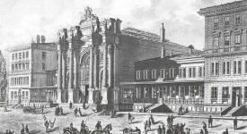 Praha – Těšnov: Nejkrásnější nádraží Evropy bylo ozdobou Prahy