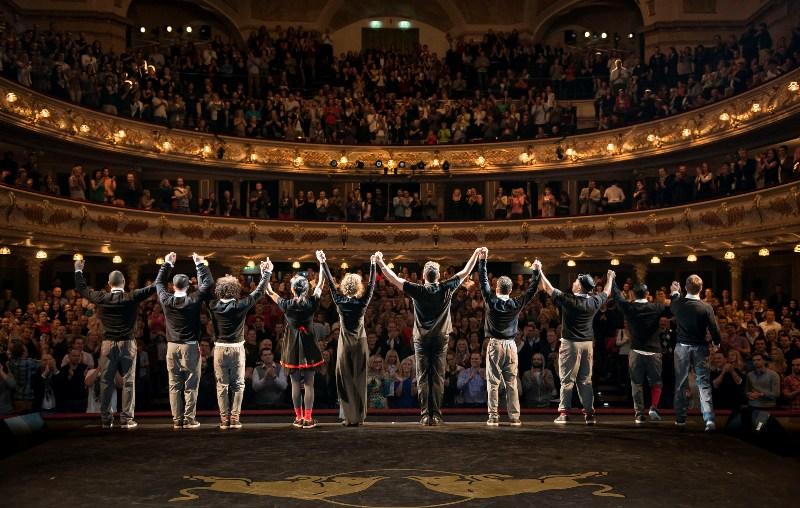 Herci si užívají aplausu spokojeného obecenstva