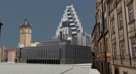 Neuvěřitelné návrhy na dostavbu Staroměstské radnice. Podívejte se