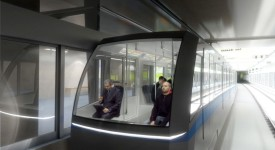 Na déčku bude jezdit metro bez strojvůdce. Podívejte se, jak budou vlaky vypadat