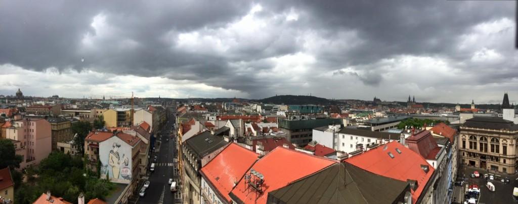 Jindřišská věž nabízí neobvyklé pohledy na město - Foto: Jakub Liška