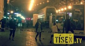 Na Masarykově nádraží projel vlak zarážedlem na konci koleje. Souprava vjela do haly