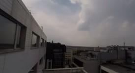 Bouřka zkropí vyprahlou Prahu. Podívejte se na video