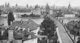 NOSTALGICKÉ POKOUKÁNÍ. Nejstarší fotografie Prahy jsou z roku 1856